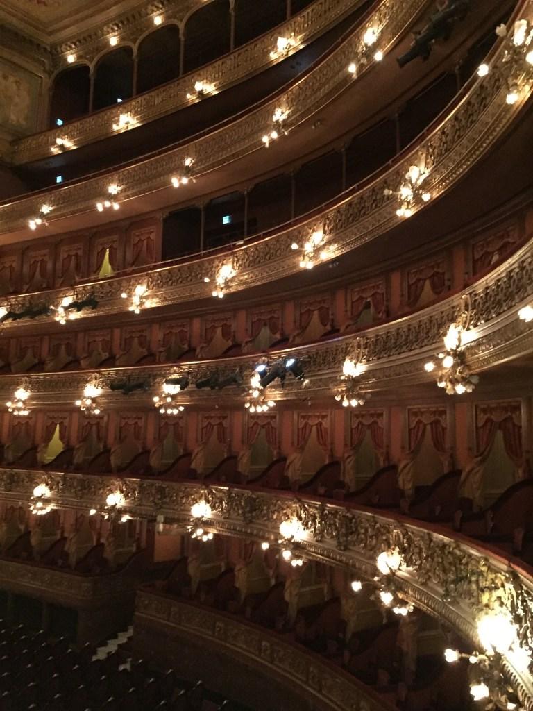 Balconies of the Teatro Colón