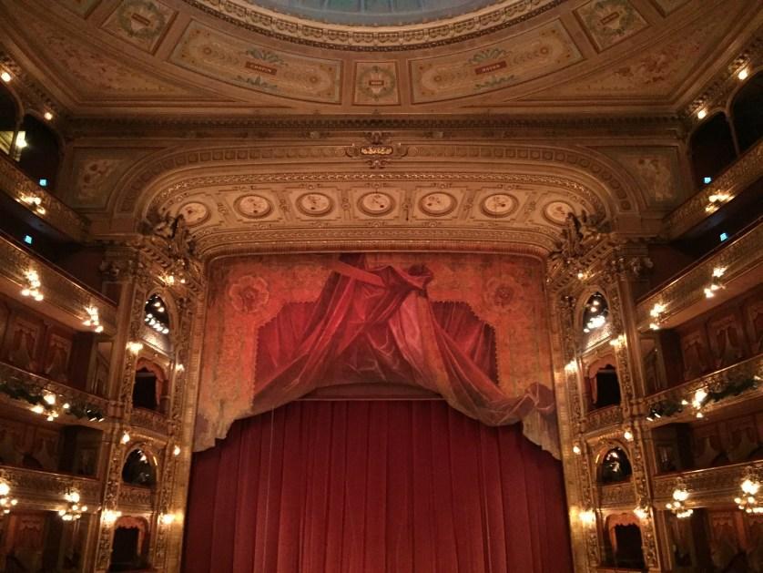 Inside of the Teatro Colon