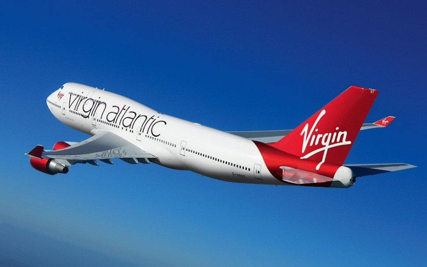 Virgin Atlantic Plane, From Telegraph.co.uk
