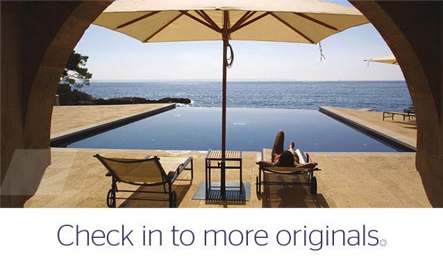 Design Hotels SPG, From Starwood Website