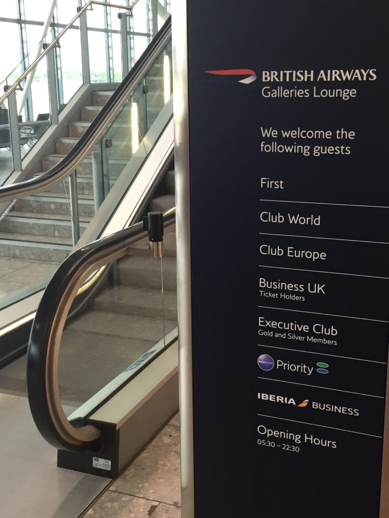 British Lounge Signs