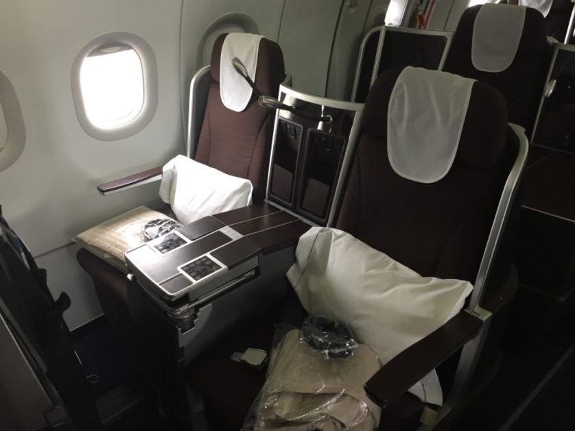 A321 British BMI Seat