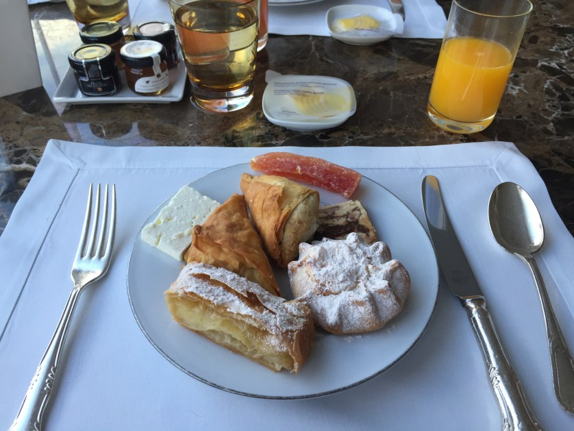 King George Breakfast Athens Greece