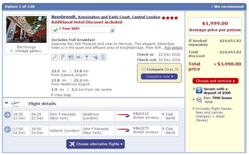 London Luxury Discount