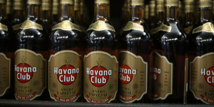 Cuban rum, from Huffpost