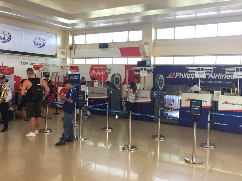 Puerto Princesa Airport Check in Area