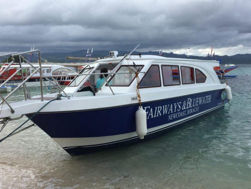 Fairways Private Speedboat