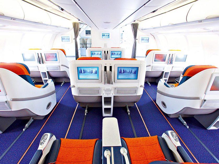 Aeroflot interior, from businessdestinations.com