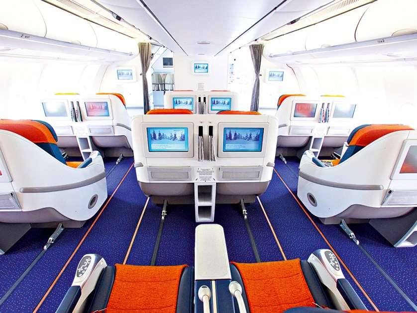 Aeroflot interior, from businessdestinations.com