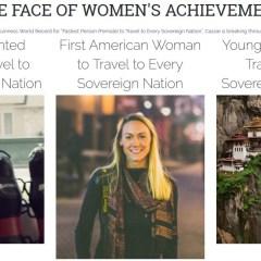 Cassie De Pecol No es la Primera Mujer en Visitar Cada Pais del Mundo