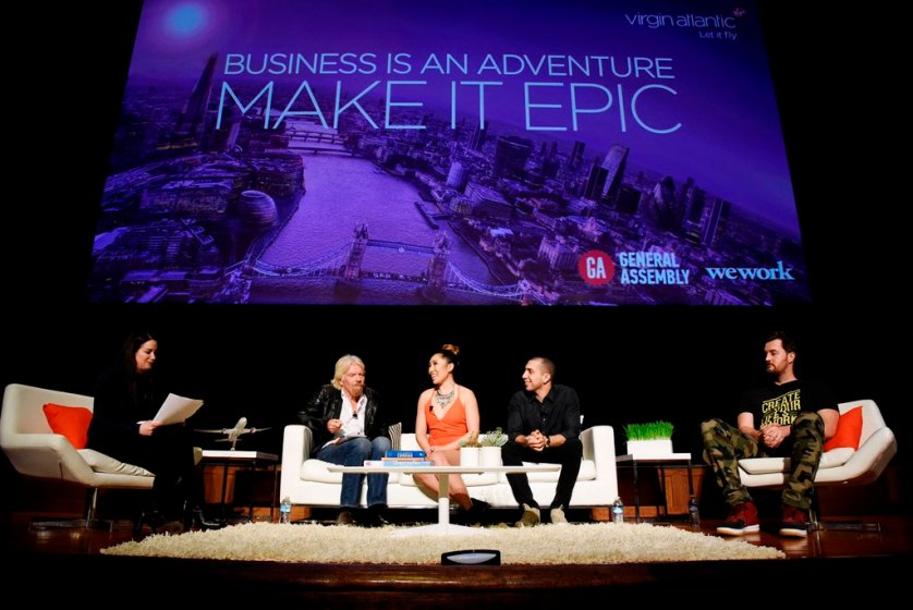 Business is an Adventure, from Virgin Atlantic Blog