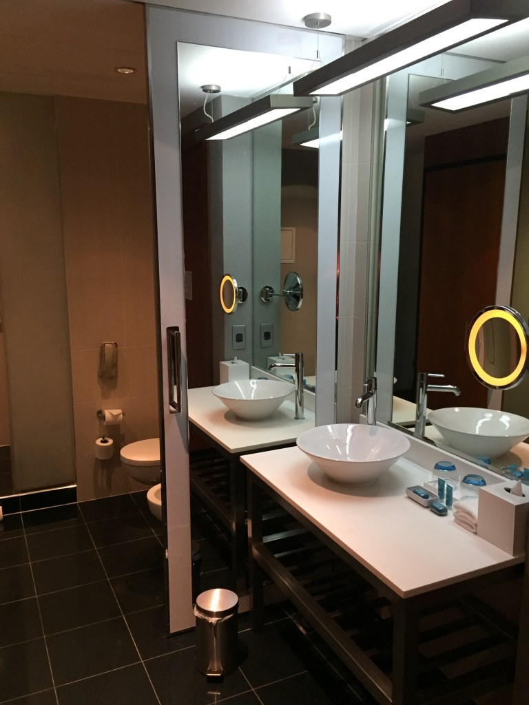 Aloft Abu Dhabi Bathroom