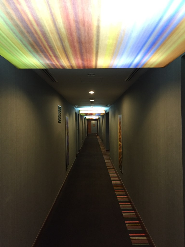 Aloft Abu Dhabi Hallways