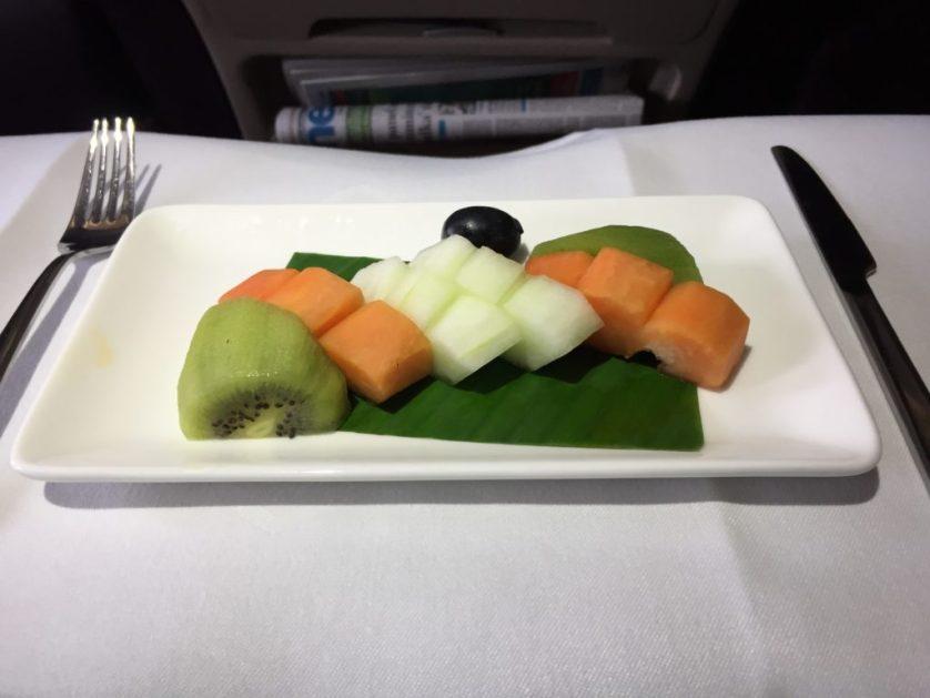 Vistara Business Class Fruit