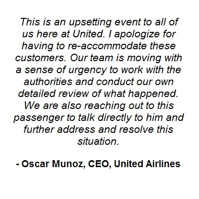 Oscar Munoz statement