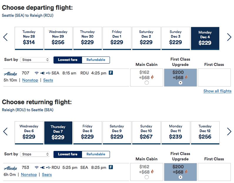 Alaska Airlines Companion Fare