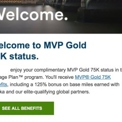 Complimentary MVP Gold 75K on Alaska Airlines