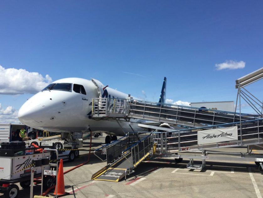Alaska SkyWest First Class Exterior
