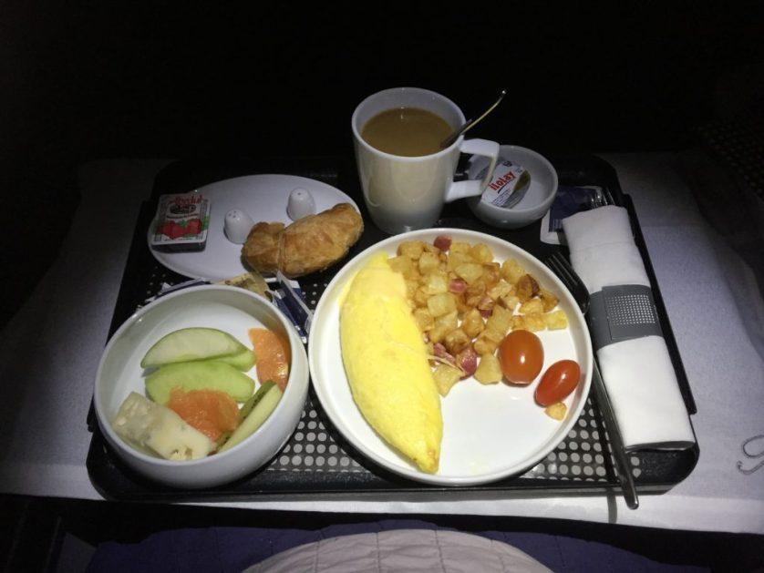 Aeromexico Breakfast