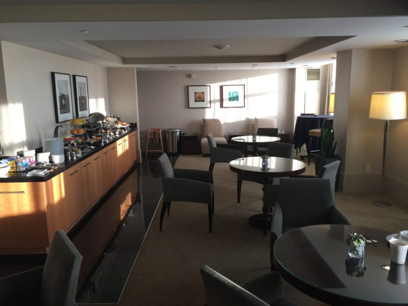 Westin Detroit Airport Executive Lounge