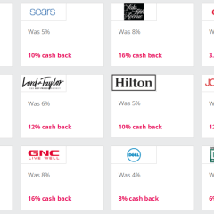 Double Cash Back Today only on TopCashBack!