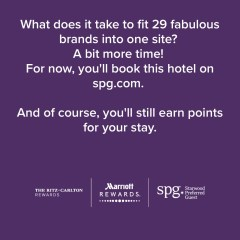 Can't book a Marriott or SPG Hotel? Sadly, you're not alone.