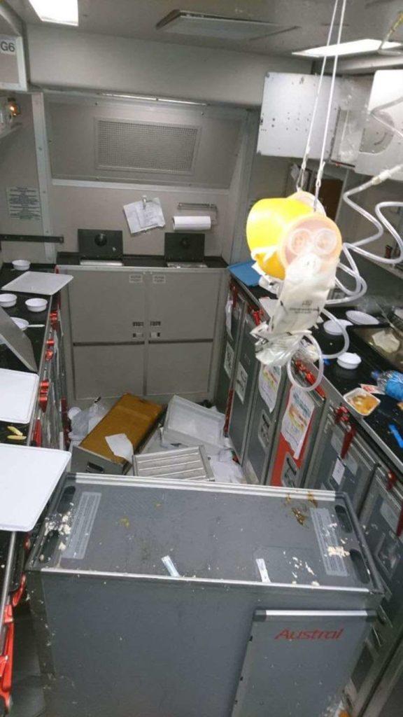 Turbulence Aboard AR1303 from MSN.com