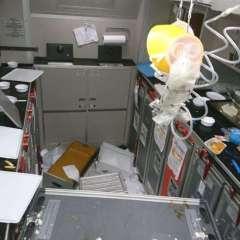 Turbulence Sends Passengers to Hospital