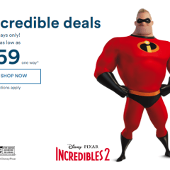 Alaska Airlines Incredibles Sale, 2 days, from $54