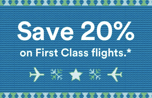 Christmas Miracle! Alaska Airlines discounts First Class Flights
