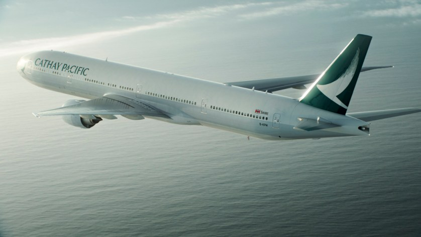 Cathay Pacific, from CathayPacific.com
