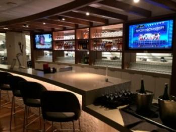 Star Alliance Lounge LAX Bar