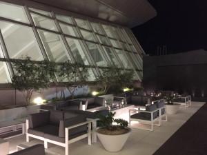 Outside Balcony seating area