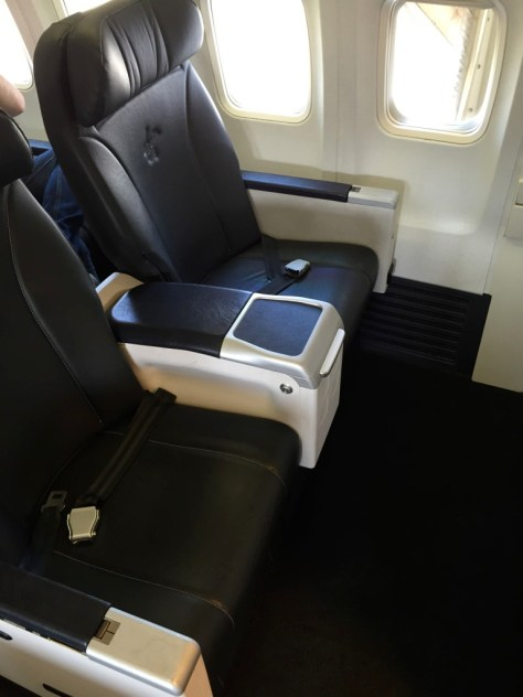 Virgin 737 business class seat