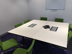 Available conference room