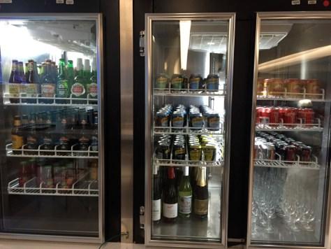 Huge drink selection
