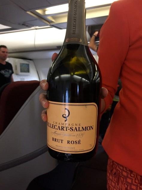 Pre Departure Champagne