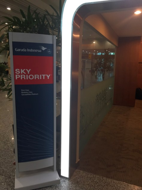 Sky Priority and Business Class