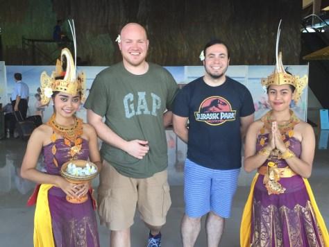 Balinese Welcome to Sheraton Kuta Resort