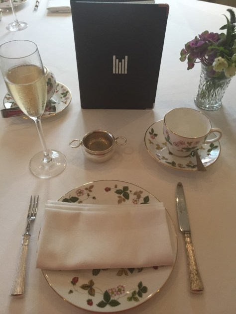 Millennium Mayfair place setting