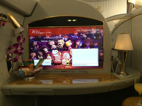 Emirates First Class Seat