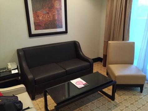 Holiday Inn Barsha Seating Area