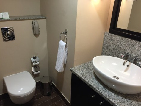 Holiday Inn Barsha Spare Bathroom