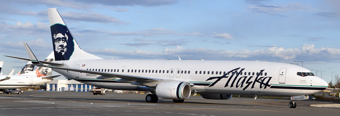 From Alaskaair.com website, the Boeing 737-900ER