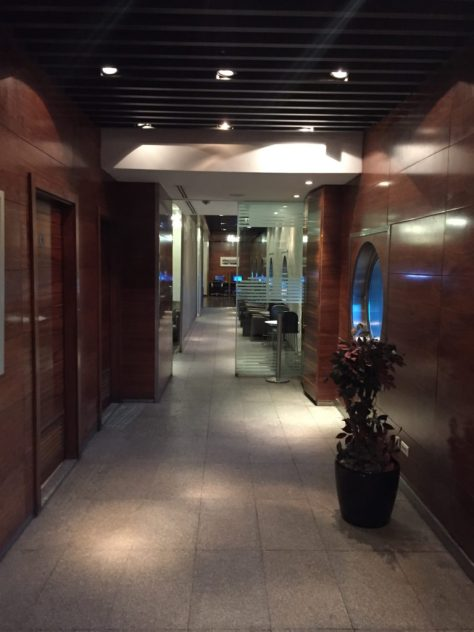 Entrance to the Star Alliance Gold Lounge