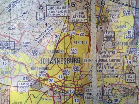 Tambo Airport Maps