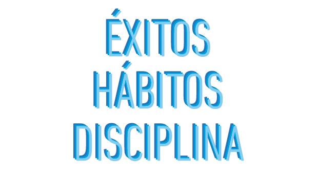 Exitos Habitos Disciplina No Mas Palidas