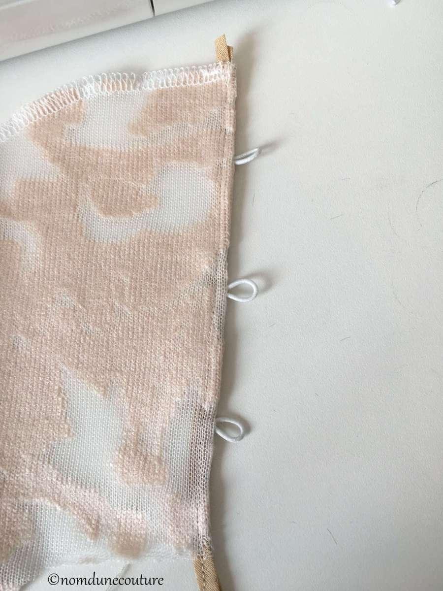 Nom d'une couture ! top Pollux tissu