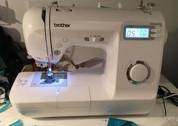 Nom d'une couture ! Machine à coudre Brother Innovis 35