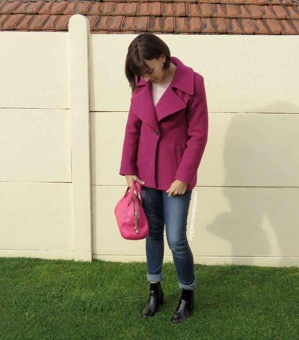Nom d'une couture ! Mon premier manteau - Burda 119 octobre 2016